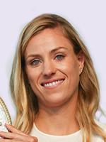 The 29-year old daughter of father Slawomir Kerber and mother Beata Kerber, 172 cm tall Angelique Kerber in 2017 photo