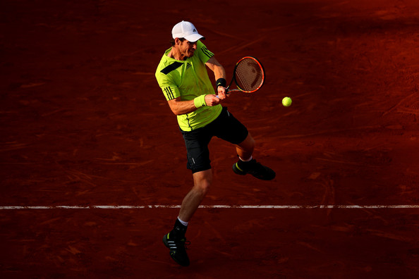 2014 French Open: Andy Murray in adidas