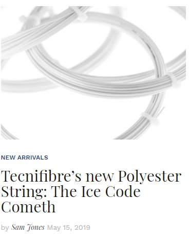 Tecnifibre Ice Code String Review Blog