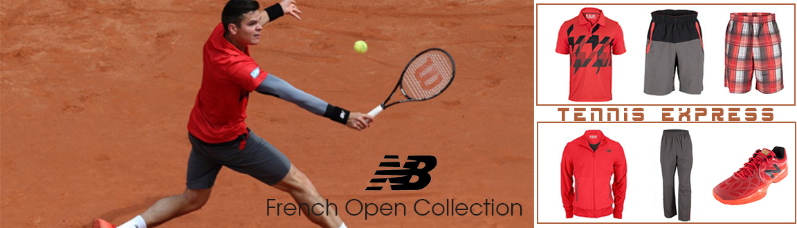 Red Hot! New Balance's French Open Collection