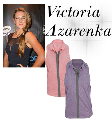 Victoria Azarenka Sports New Nike Gear for Clay