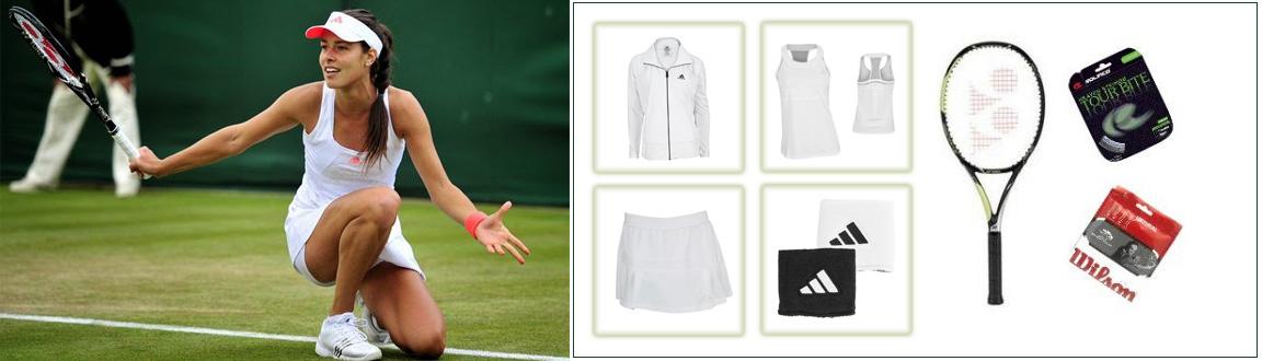 Ana Ivanovic is Wimbledon Ready