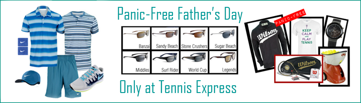 Panic-Free Father's Day Shopping at Tennis Express