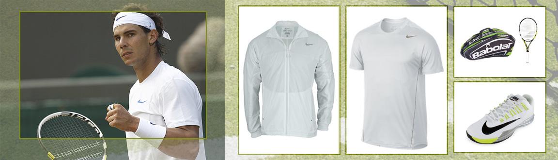 Rafael Nadal's Wimbledon Whites