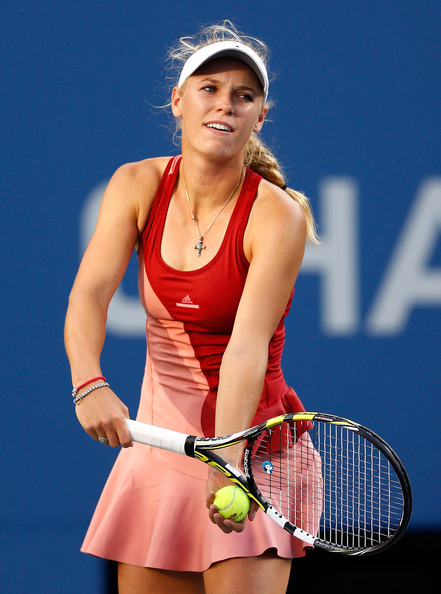 Caroline Wozniacki Day 14 at the 2014 US Open (Sept. 6, 2014 - Source: Julian Finney/Getty Images North America)