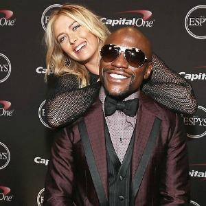 Maria Sharapova Pokes Fun With Floyd Mayweather