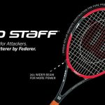 2014 Wilson Pro Staff RF97 Autograph Tennis Racquet Photo