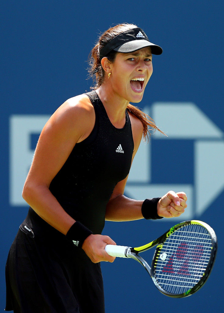 Ana Ivanovic's Adidas Look For The 2014 U.S. Open