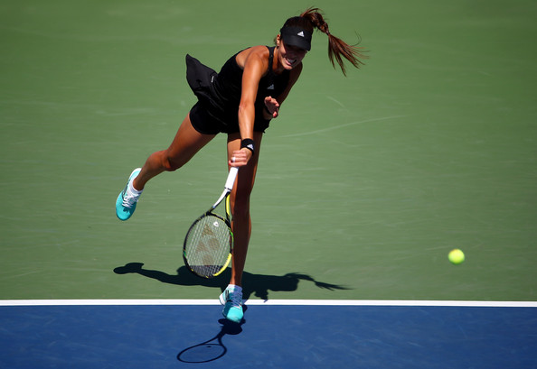 Ana Ivanovic on Day 4 at the 2014 US Open Aug. 27, 2014 - Source: Streeter Lecka/Getty Images North America)