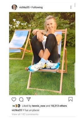 Victoria Azarenka Instagram Pic