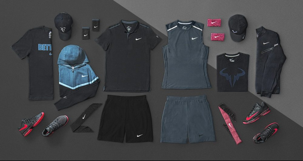 2014 US Open Nike Mens Roger Federer and Rafael Nadal Outfits