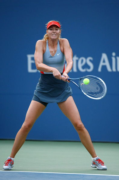 Maria Sharapova on Day 3 at the 2014 US Open (Aug. 27, 2014 - Source: Streeter Lecka/Getty Images North America)