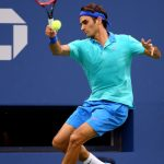 Roger Federer on Day 7 at the 2014 US Open (Aug. 30, 2014 - Source: Streeter Lecka/Getty Images North America)