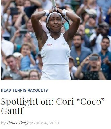 Spotlight on Coco Gauff Blog Thumbnail