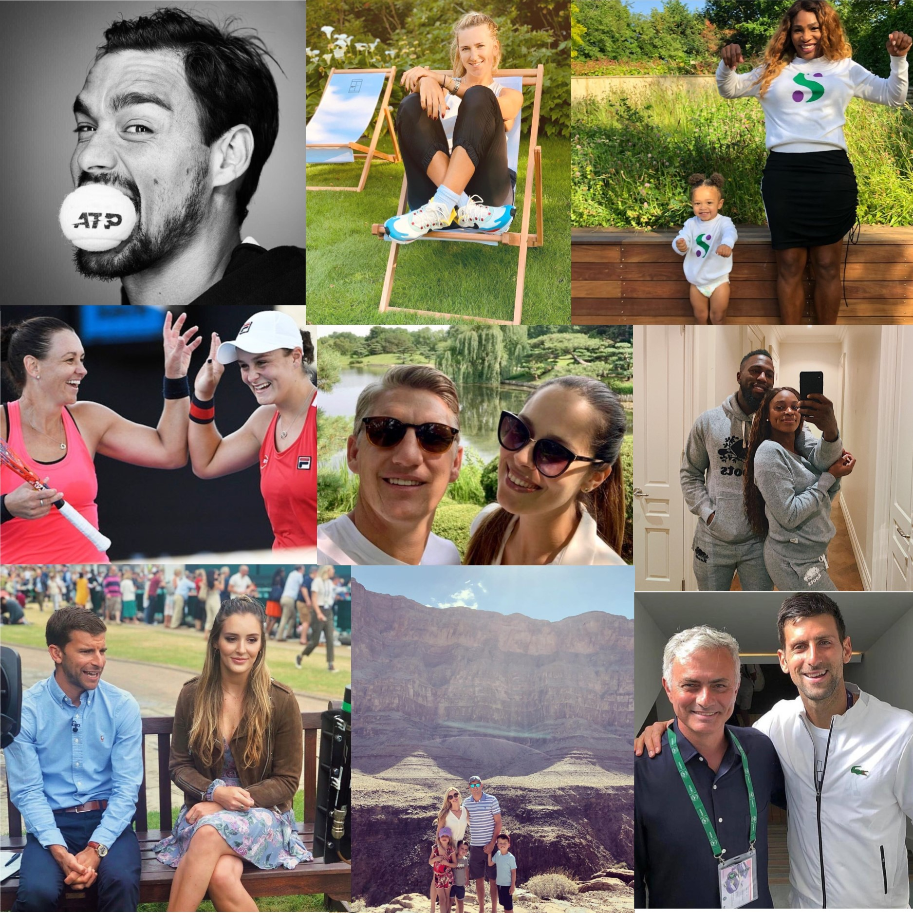 Top 10 Tennis Players to Follow On Instagram