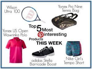 Top 5 Tennis Pins