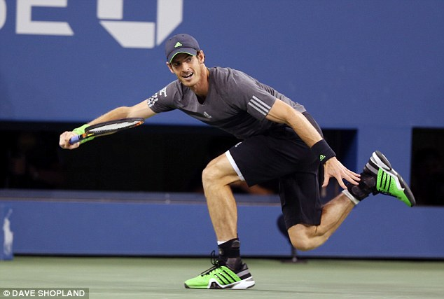 Andy Murray in the round of 32 at the 2014 US Open Source- Dave Shopland