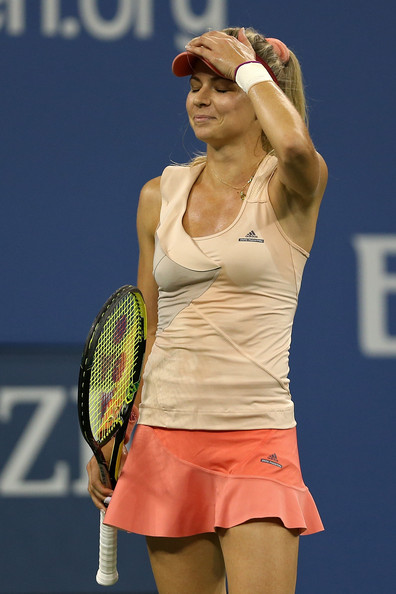 Maria Kirilenko on Day 1 at the 2014 US Open (Aug. 24, 2014 - Source: Matthew Stockman/Getty Images North America)