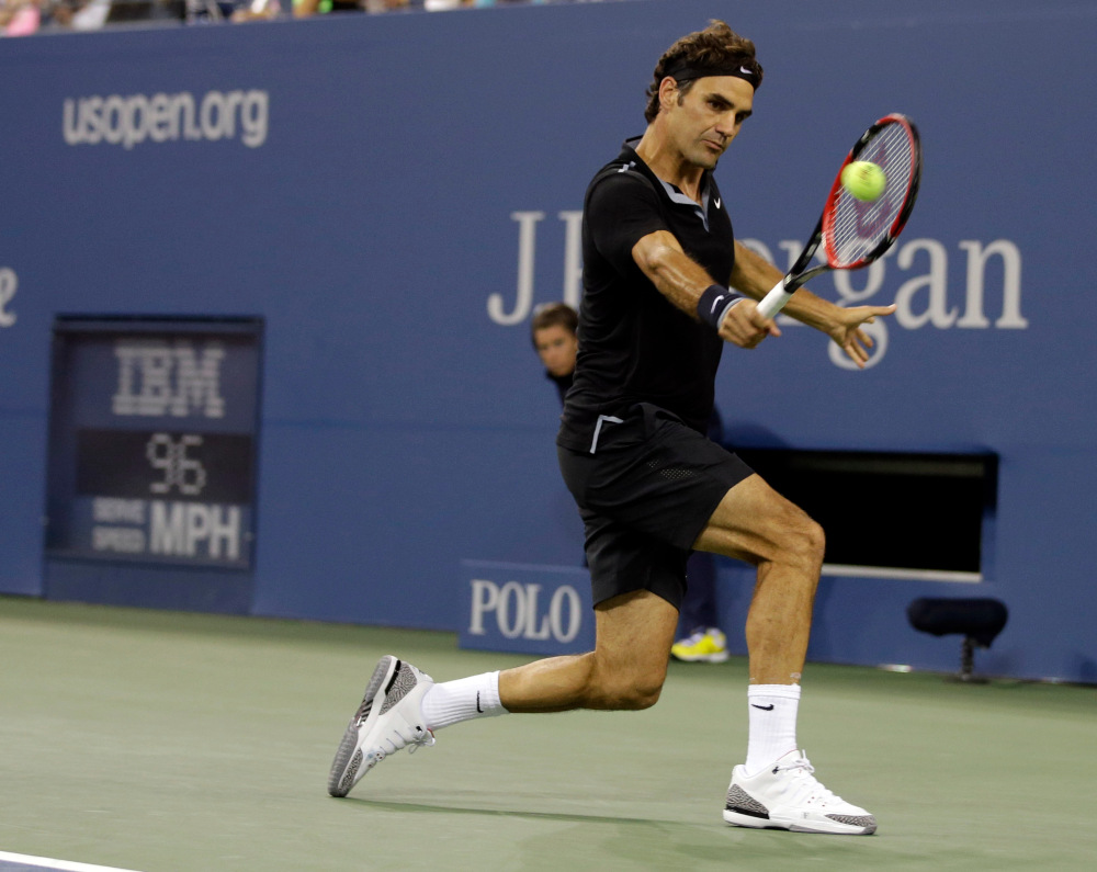 Roger Federer 2014 NYC Night Look