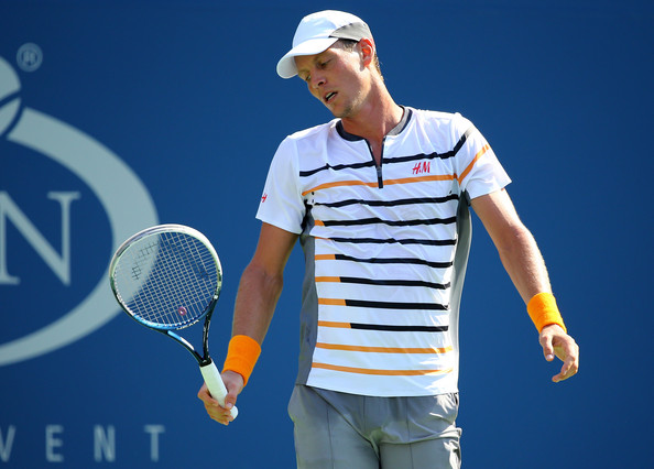 Tomas Berdych on Day 3 at the 2014 US Open (Aug. 26, 2014 - Source: Al Bello/Getty Images North America)