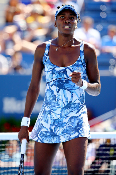 Venus Williams on Day 5 at the 2014 US Open (Aug. 28, 2014 - Source: Al Bello/Getty Images North America)