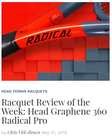 Head Graphene 360 Radical Pro Tennis Racquet Review Blog