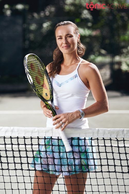 Martina Hingis in Tonic Active Advertisement