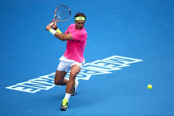 Rafael Nadal 2015 Aussie Open Fashion