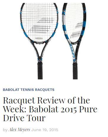 2015 Babolat Pure Drive Tour Racquet Review Blog Thumbanil