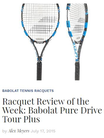 2015 Babolat Pure Drive Tour Plus Racquet Review Blog Thumbnail