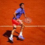 Roger Federer Day 1 at the 2015 French Open (May 23, 2015 - Source: Julian Finney/Getty Images Europe)