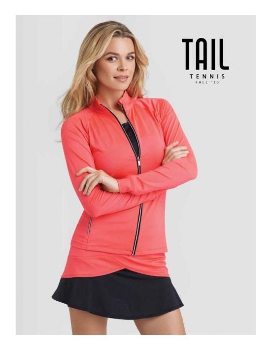 Tail Fall 2015 Tennis Apparel Catalog Cover