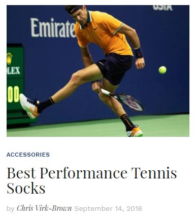 Best Performance Tennis Socks Blog