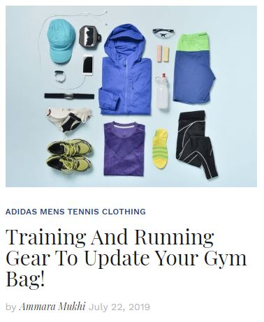 Training and Running Gear To Update Your Wardrobe Blog