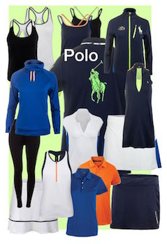 Official US Open Gear: the Polo Ralph Lauren Women's Fall Clothing Collection