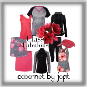 Jofit Cabernet Women's Tennis Clothing Collection, for Wine and Tennis Lovers!