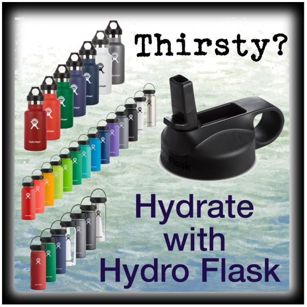 Hydrate with Hydroflask