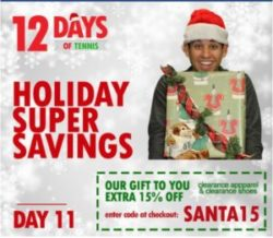 12 Days of Christmas | Promo Code