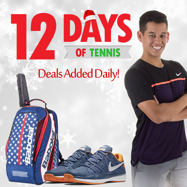 12 Days of Tennis Holiday Deals