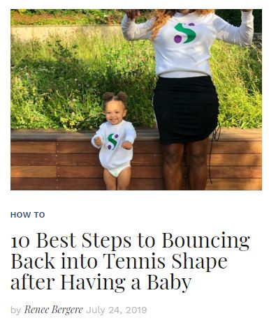 Bouncing Back after Having a Baby Blog
