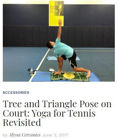 Yoga for Tennis Revisted Blog