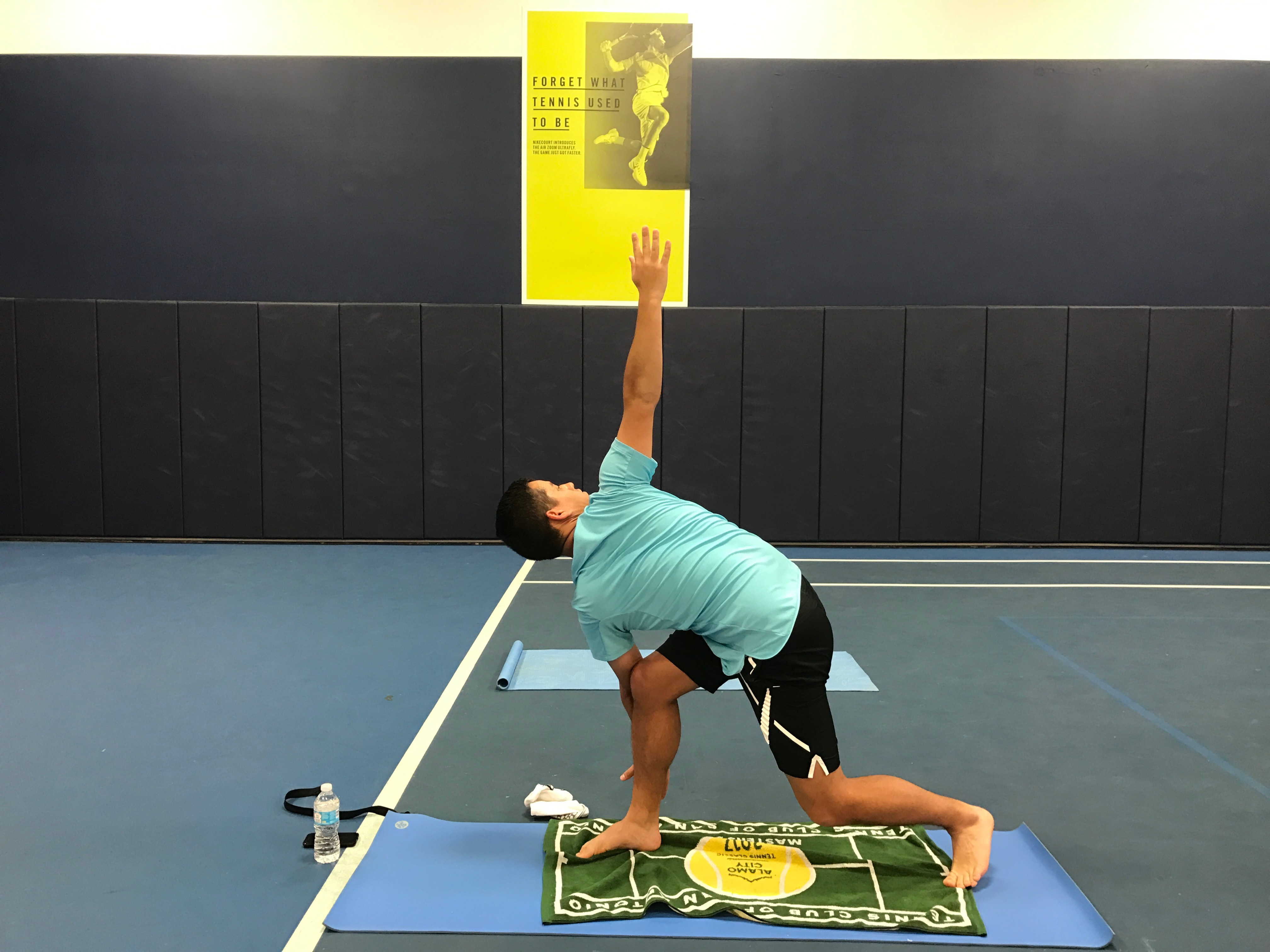 Tree and Triangle Pose on Court: Yoga for Tennis Revisited