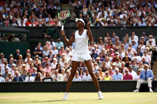 Venus Williams is in the 2017 Wimbledon Final!