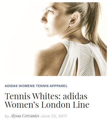 Adidas Wimbledon Whites Blog 2017