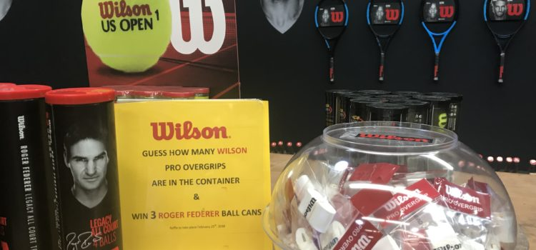 Exclusive Wilson Giveaway at Tennis Express