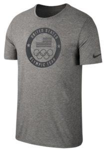 Nike Men's USOC Tee in Carbon Heather