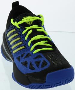 Shoe Lace Pattern to Counteract Heel Slippage