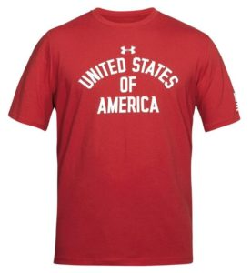 Under Armour Men's USA Verbiage Short Sleeve Tee