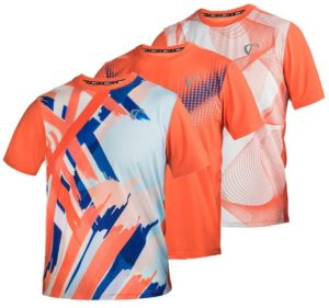 Athletic DNA Men's Mesh Yolk Short Sleeve Tennis Crew