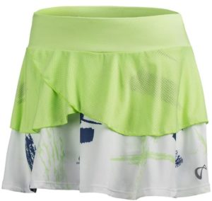 Athletic DNA Women's Art Brush Tennis Skort Paradise Green